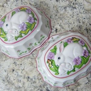 2 Le Cordon Bleu Bunny Rabbi Jello Mold